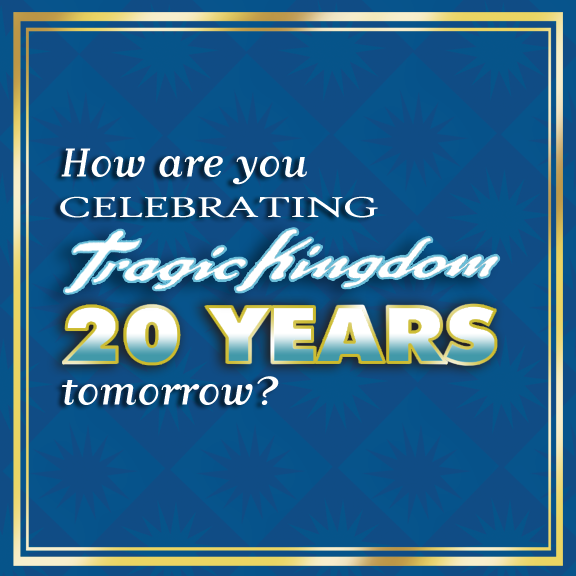Let us know below! #tragickingdom20 #tk20