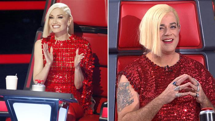 Weekend today hosts channel the voice coaches updated