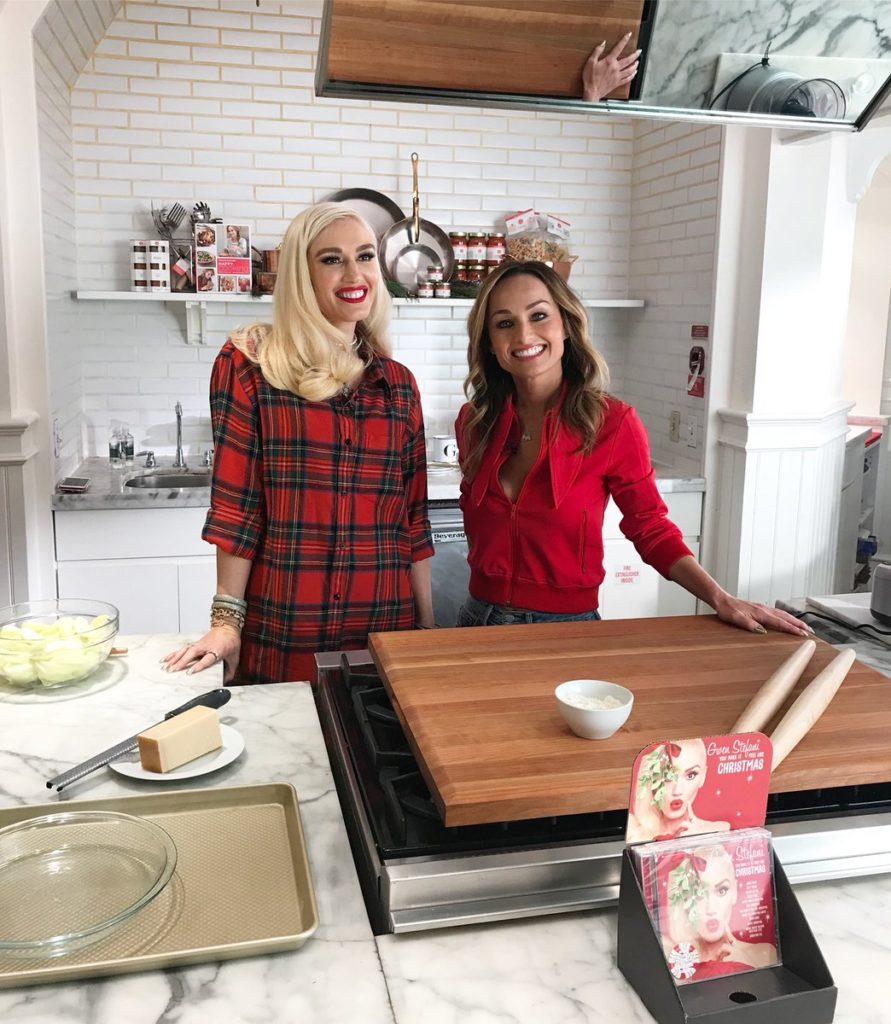 Gwen in the Kitchen with Williams Sonoma and Giada De Laurentiis ...